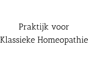 van Diejen Praktijk voor Klassieke Homeopathie Logo